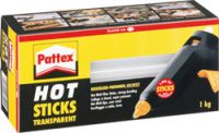 Pattex Hot Sticks transparent PTK1, 1kg